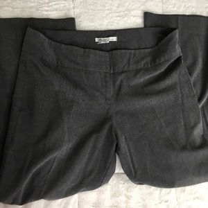 Kenneth Cole Gray Career Trousers 14 Petite